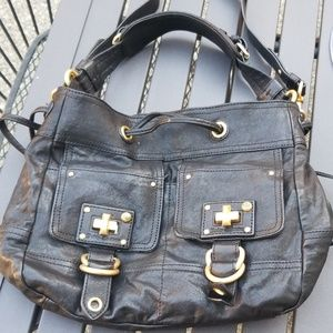 Juicy Couture Black Leather Purse